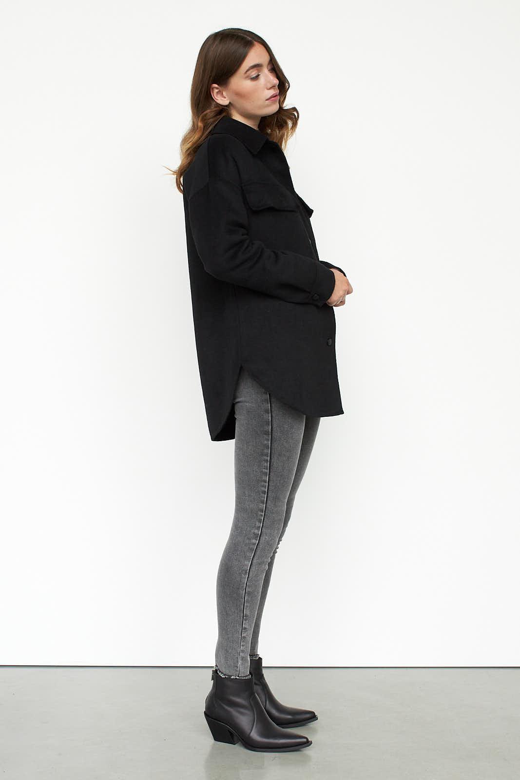 Danielle shirt jacket sideview