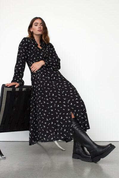 WBLCANDY MAXI SHIRT DRESS LS