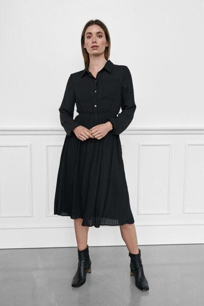 WBLELIEEN VIENNA SOLID DRESS